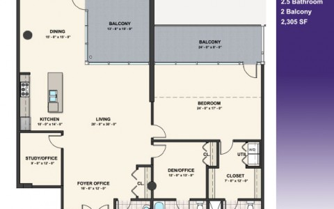 Penthouse Renderings on philadelphia penthouse floor plans